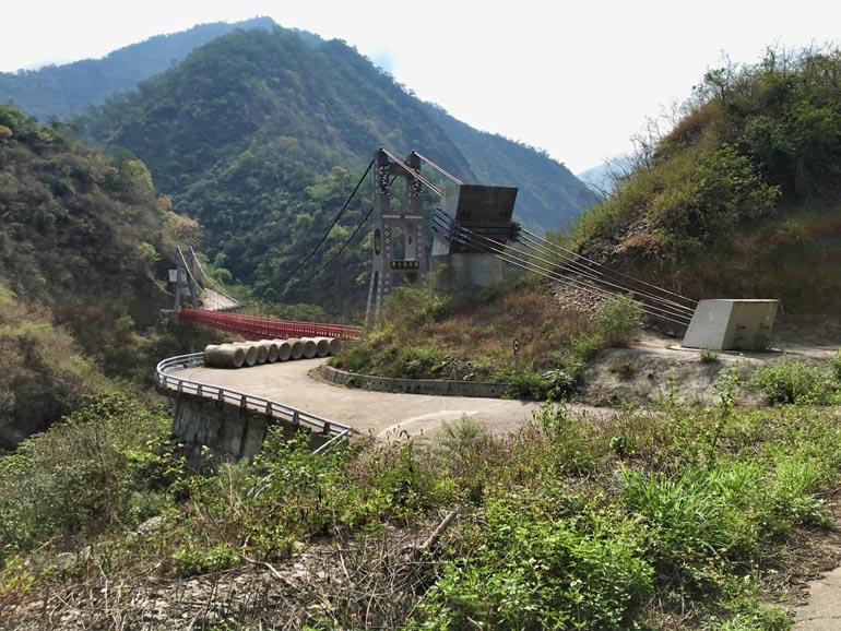 Laoqijia Suspension Bridge - 老七佳吊橋