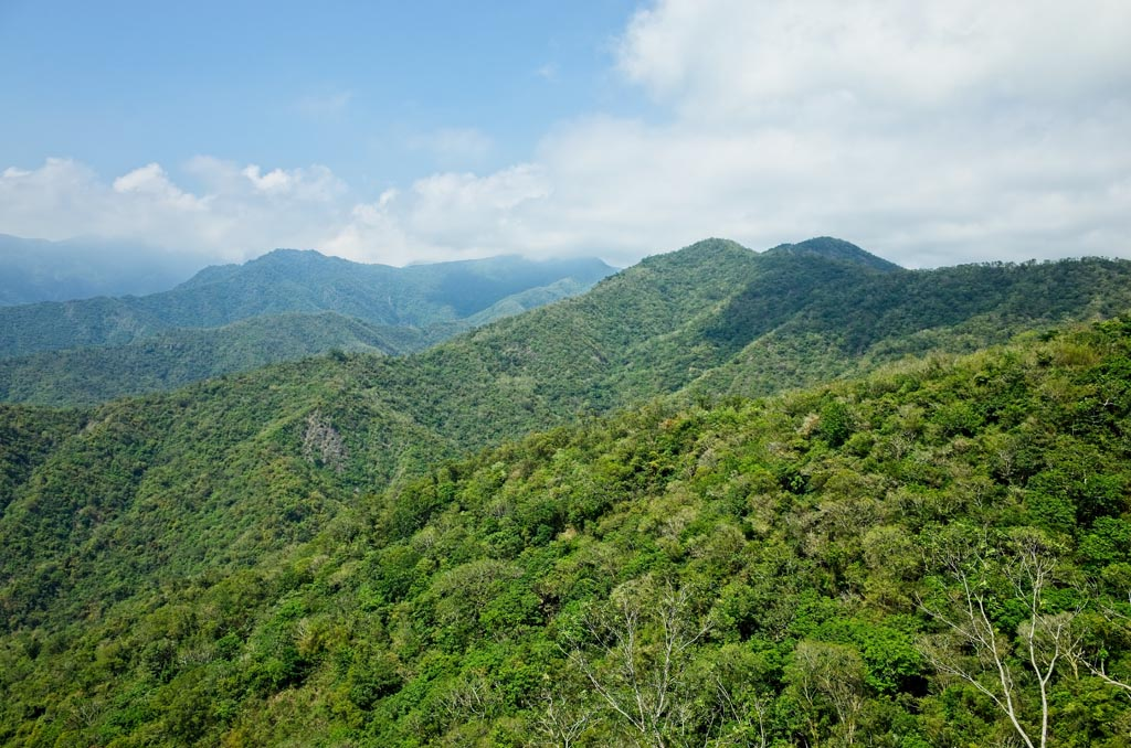 Typical Taiwan mountain scene